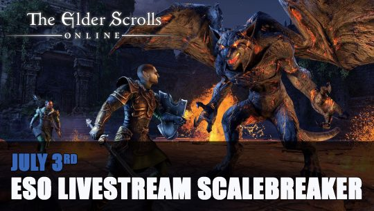 Elder Scrolls Online Livestream Scalebreaker and Update 23