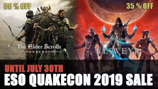 Elder Scrolls Online QuakeCon Sale 35% Off Elsweyr
