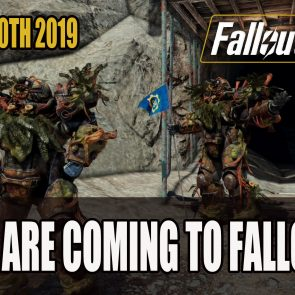 Thomas Roach — Raids Coming to Fallout 76 This August 2019