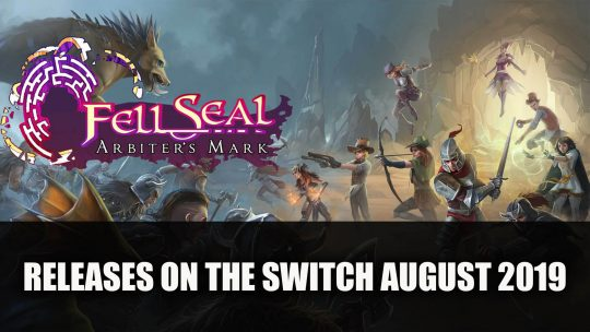 Fell Seal: Arbiter's Mark Coming to the Switch August 14th