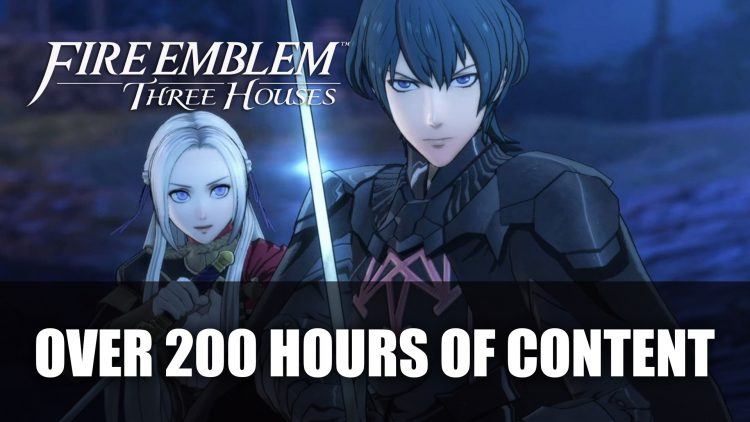Fire Emblem: Three Houses Over 200 Hours of Content According to Directors