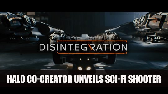Halo Co-Creator Announces Sci-fi Shooter Disintegration