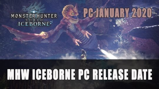 Monster Hunter World Iceborne Reveals New Subspecies & Steam Release Date