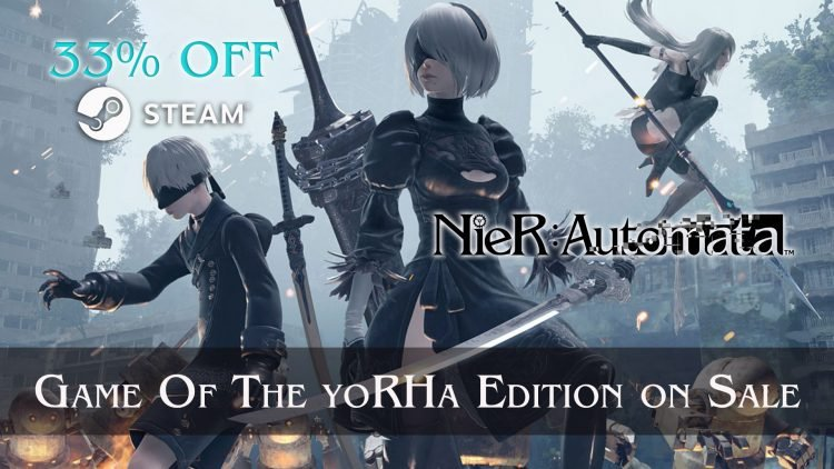 NieR: Automata Game of the YoRHa Edition is 33% Off on Steam