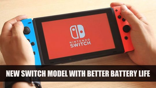 Nintendo Announces New Switch Model with Better Battery Life