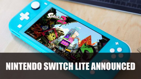 Nintendo Announces Switch Lite