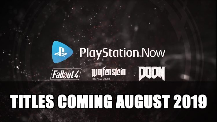 Playstation Now Adds Fallout 4, Wolfenstein and Doom on August 6th