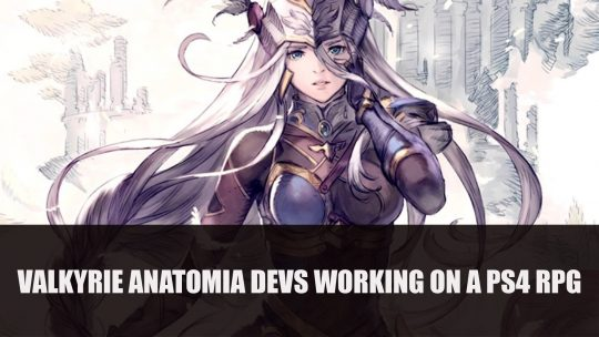"Valkyrie Anatomia Developer Working on a ""Large-Scale"" RPG According to Job Posts"