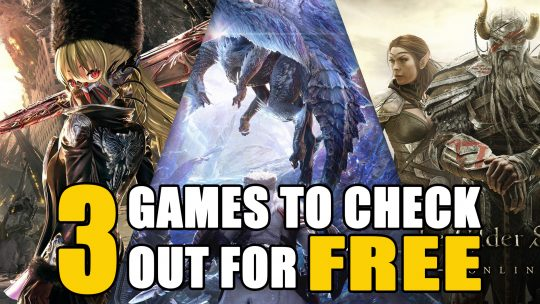 3 Games to Check Out for Free