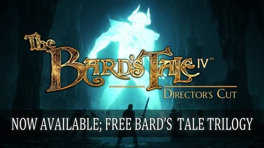 The Bard's Tale 4 Directors's Cut Now Available