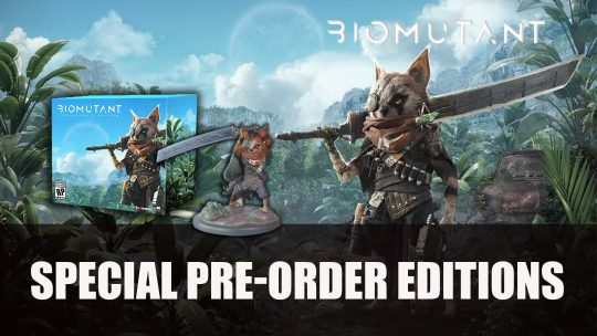 Biomutant Special Pre-Order Editions Announced