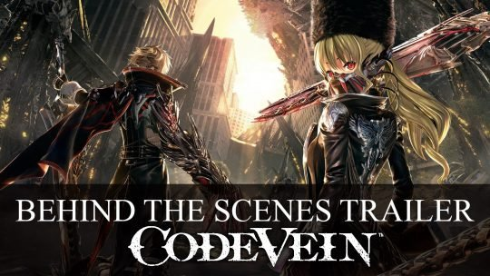 Code Vein Behind the Scenes Trailer Talks Art Style and Gameplay