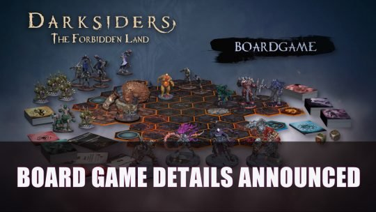 Darksiders The Forbidden Land Board Game Details Announced