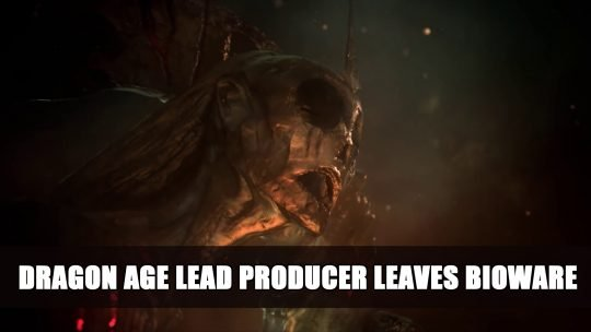 Lead Producer of Dragon Age 4 Leaves Bioware