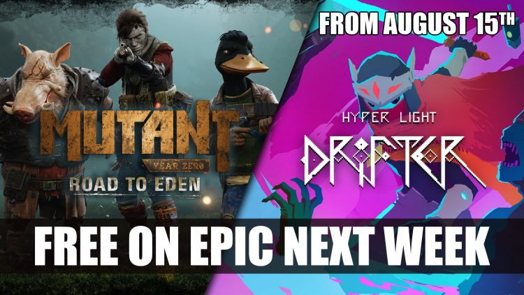 Mutant Year Zero and Hyper Light Drifter Free on Epic Store