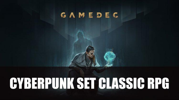 Gamedec a Cyberpunk Set RPG Announced