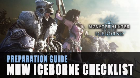 Monster Hunter World Iceborne Checklist