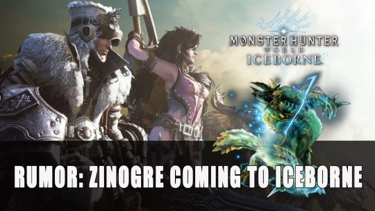 Rumor: Zinogre Could Be Coming to Monster Hunter World Iceborne