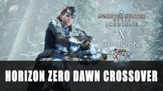 Monster Hunter World Iceborne Horizon Zero Dawn Crossover
