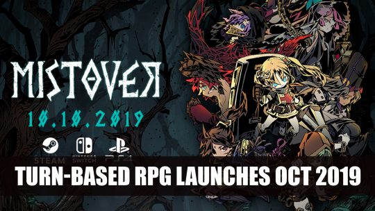 Mistover Turn-based RPG Launches October 2019