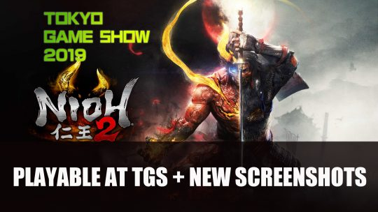 Nioh 2 New Screenshots and Will Be Playable at Tokyo Game Show 2019