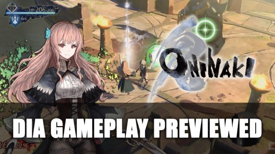 Oninaki Daemon Dia Gameplay Previewed