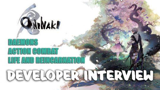 Oninaki Developer Interview Gamescom 2019