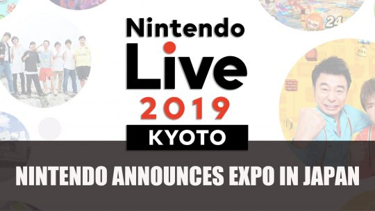 Nintendo Live Gaming Expo Announced for Japan this October