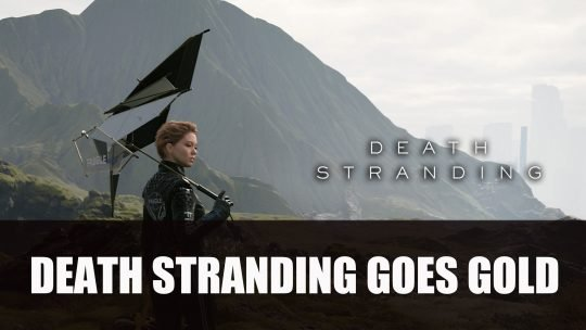 Death Stranding Goes Gold A Month Before Release
