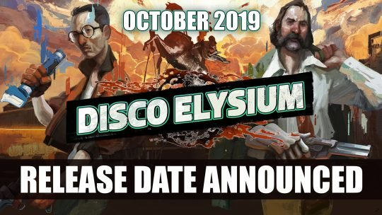 Disco Elysium Release Date Announced for October