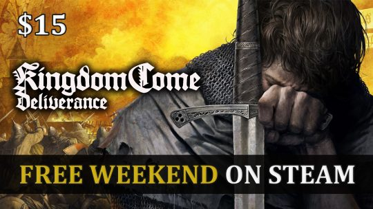 Kingdom Come Deliverance Free Weekend on Steam