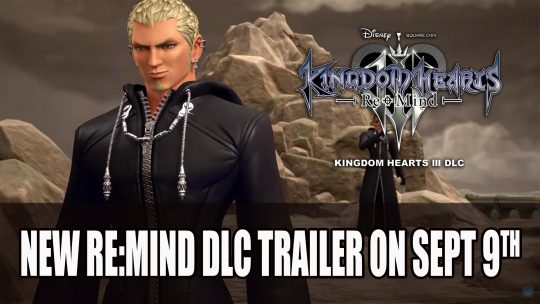 Kingdom Hearts III DLC Re:Mind Releasing September 9th