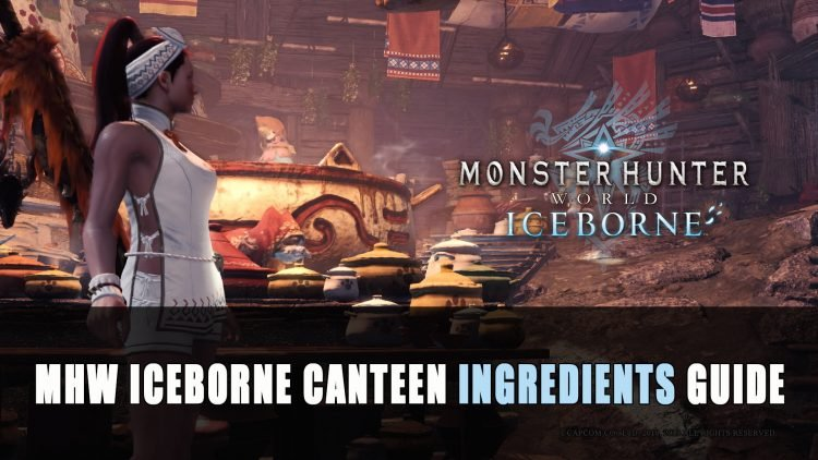 Monster Hunter World Iceborne Canteen Ingredients Guide