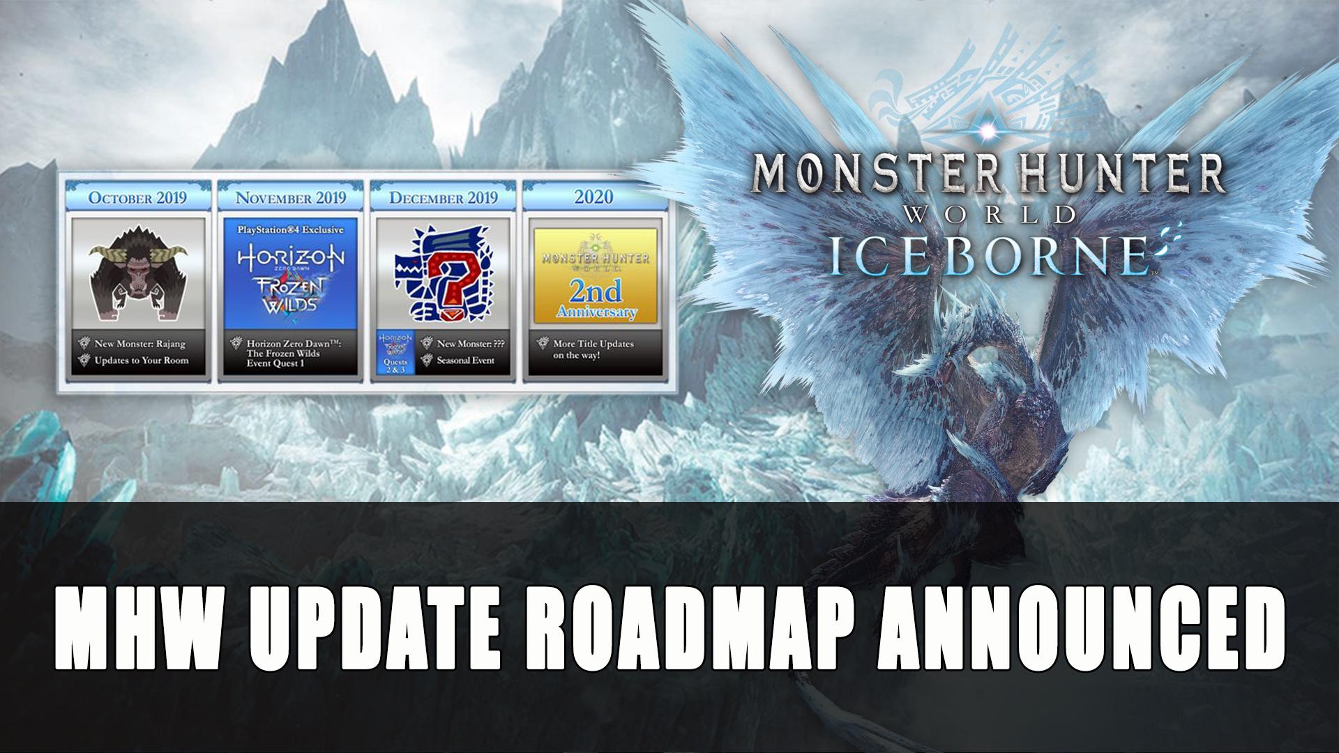 Monster Hunter World Iceborne Update Roadmap Announced
