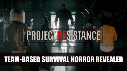 Resident Evil Project Resistance First Trailer Features Team Gameplay