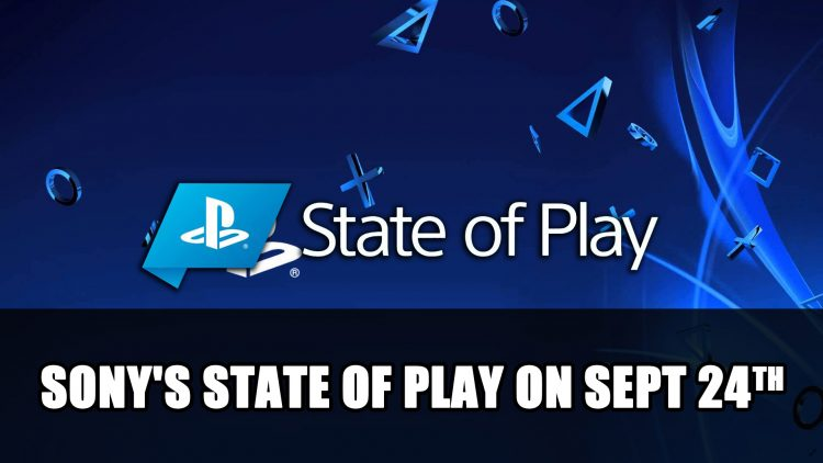 Sony's State of Play on September 24th