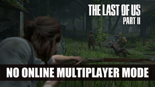 Last of Us Part II Will Not Have Multiplayer