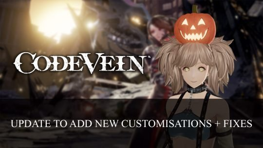 Code Vein Update Introduces Halloween Items and Fixes