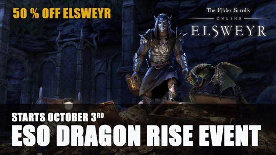 Elder Scrolls Online Dragon Rise Event