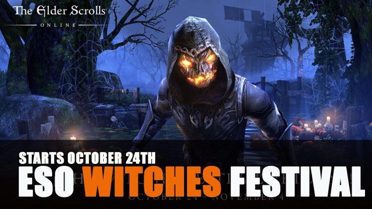 Elder Scrolls Online Witches Festival 2019