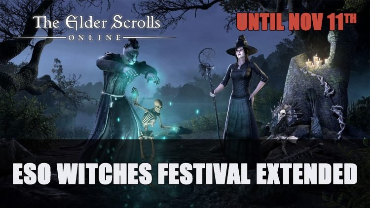 The Elder Scrolls Online Witches Festival Extended