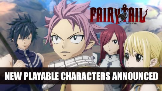 Fairy Tail Game Adds Gajeel Redfox and Juvia Lockser as Playable Characters