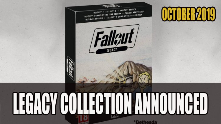 Fallout Legacy Collection Releasing in Germany and UK