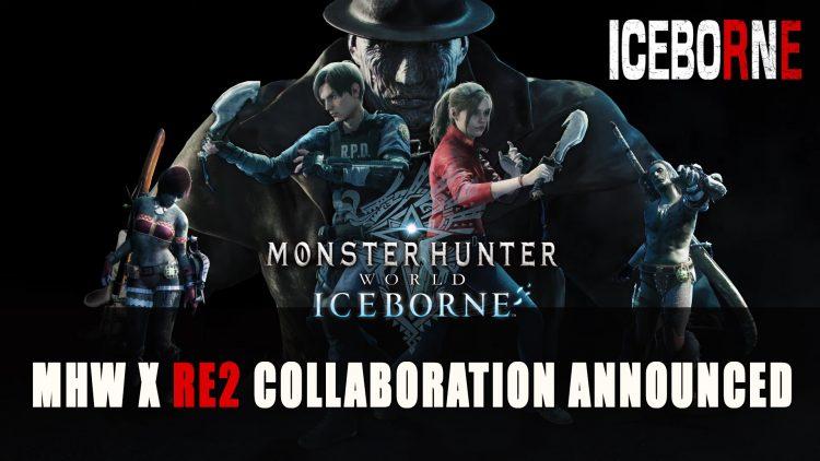 Monster Hunter World Iceborne Resident Evil 2 Collaboration Announced