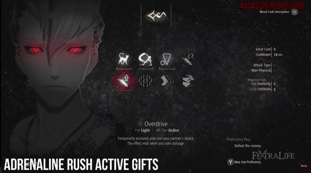 adrenaline-rush-active-gifts-code-vein-builds