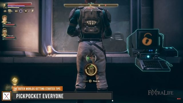 outer-worlds-getting-started-guide-pickpocket