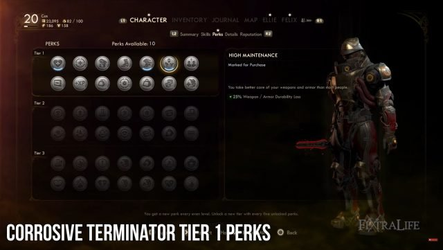 the-outer-worlds-corrosive-terminator-build-perks
