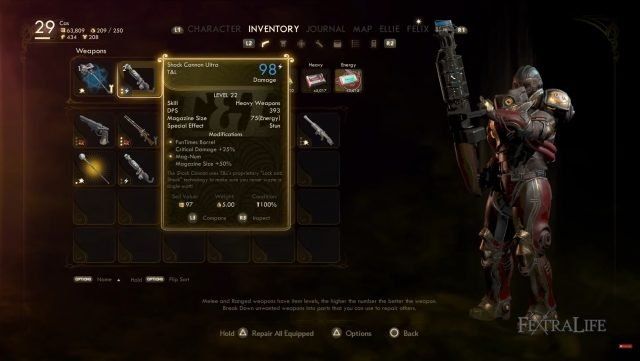 the-outer-worlds-corrosive-terminator-build-weapons