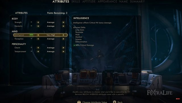 the-outer-worlds-time-sniper-build-attributes