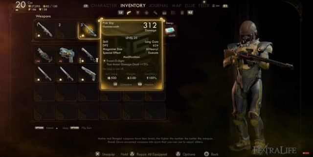the-outer-worlds-time-sniper-build-weapons